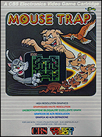 Mouse Trap CBS Box, Front © ColecoVision.dk