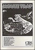 Mouse Trap CBS Manual, Front © ColecoVision.dk