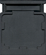 Mr. Do! CBS Cartridge, Back © ColecoVision.dk