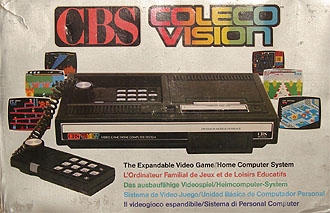 My very own original CBS ColecoVision-box. There's alot of boxesversions on the market, maybe 8-10...