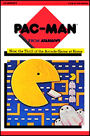 AtariSoft Pac-Man Manual, Front © ColecoVision.dk