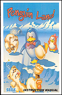 Penguin Land Manual, Front © ColecoVision.dk