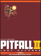 Pitfall II Box, Front © ColecoVision.dk