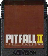 Pitfall II Cartridge, Front © ColecoVision.dk