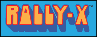 Rally-X © ColecoVision.dk