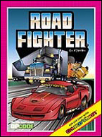 Road Fighter Box, Front © ColecoVision.dk