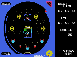 Sega Pachinko ll Screenshot, May 2015, -do not exist for ColecoVision...