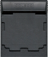Side Trak Cartridge, Back © ColecoVision.dk