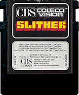 Slither Cartridge, Front © ColecoVision.dk