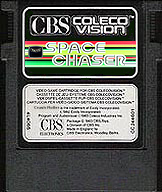 Faked Space Chaser cartridge by: ColecoVision.dk, november 2011, -do not exist for ColecoVision...