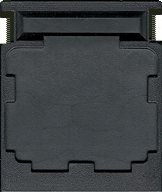 Space Fury CBS Cartridge, Back © ColecoVision.dk