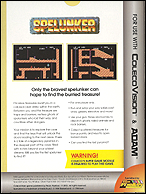 Spelunker Box, Back © ColecoVision.dk