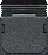 Star Force Cartridge, Back © ColecoVision.dk