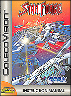 Star Force Manual, Front © ColecoVision.dk