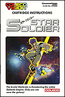 Star Soldier Manual, Front © ColecoVision.dk