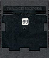 Star Wars Cartridge, Back © ColecoVision.dk