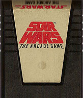 Star Wars Cartridge, Front © ColecoVision.dk