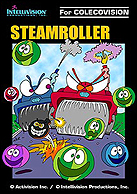 Steamroller Box, Front © ColecoVision.dk