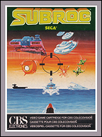 Subroc CBS Box, Front © ColecoVision.dk