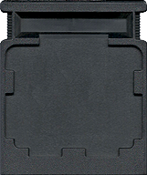 Subroc CBS Cartridge, Back © ColecoVision.dk