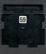 Super Cobra Cartridge, Back © ColecoVision.dk