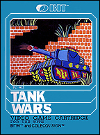Tank Wars Box, Front © ColecoVision.dk