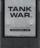 Tank Wars Cartridge, Front © ColecoVision.dk