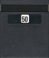 Threshold Cartridge, Back © ColecoVision.dk