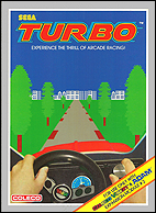 Turbo Box, Front © ColecoVision.dk