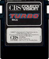 Turbo Cartridge, Front © ColecoVision.dk