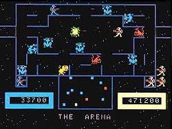 Bally Midway's Wizard Of Wor Screenshot For ColecoVision, None Exist...